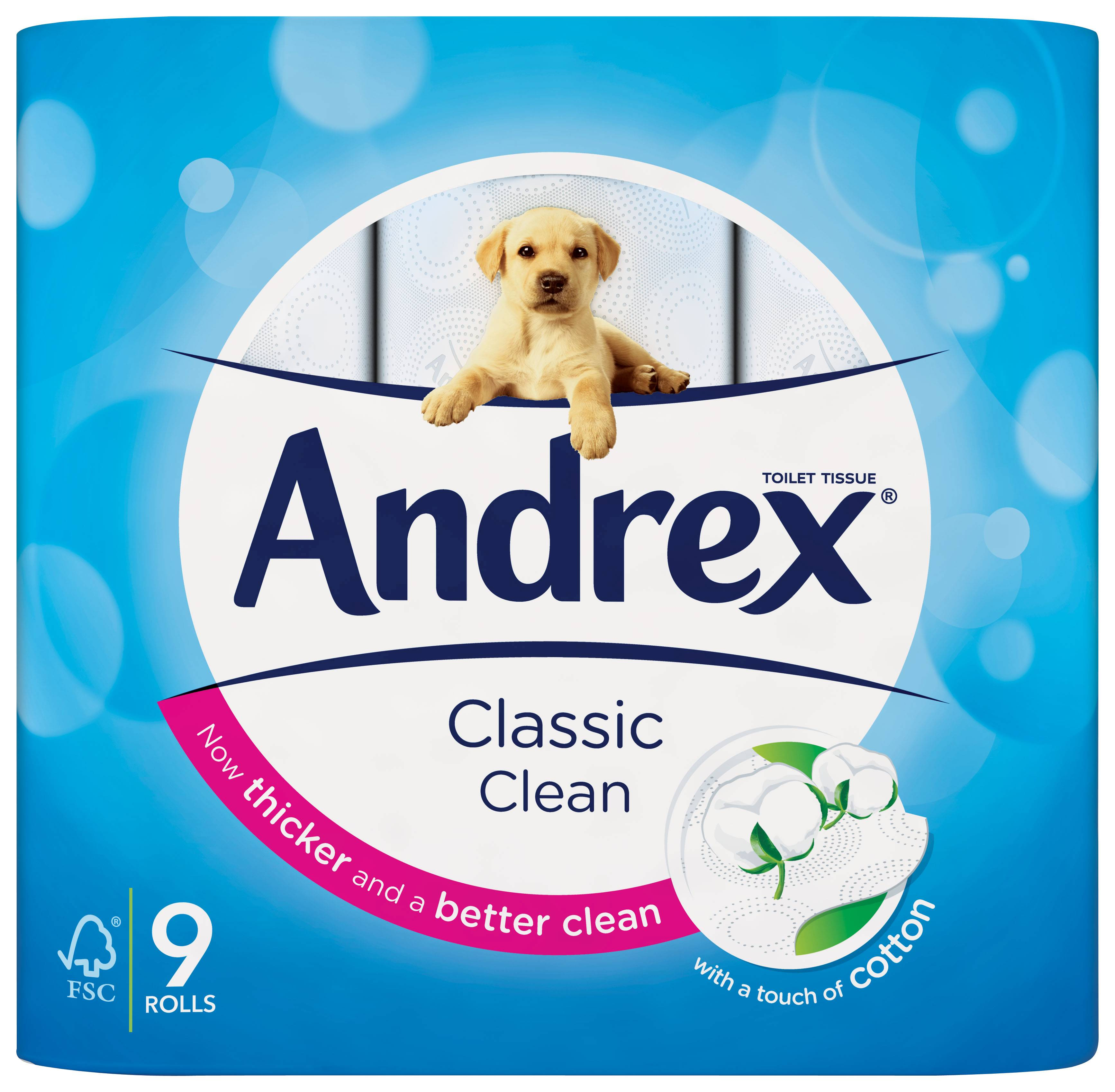 Andrex Launches Classic Clean