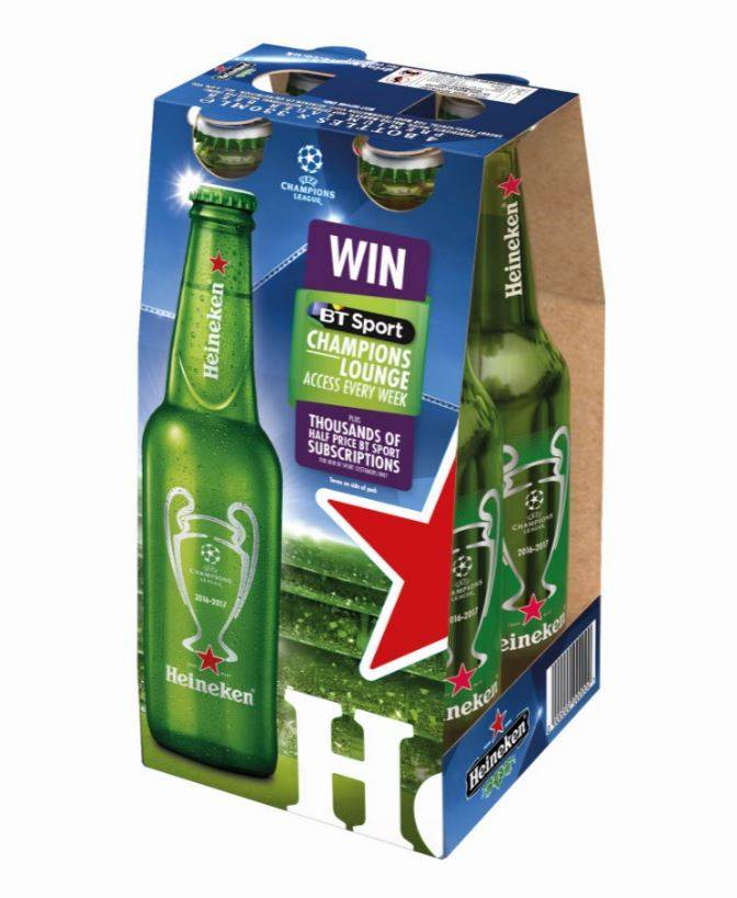 the promotion of heineken The league sponsorship renewal will continue heineken's rivalry week promotion, in which the brand presents the league's fiercest derbies.
