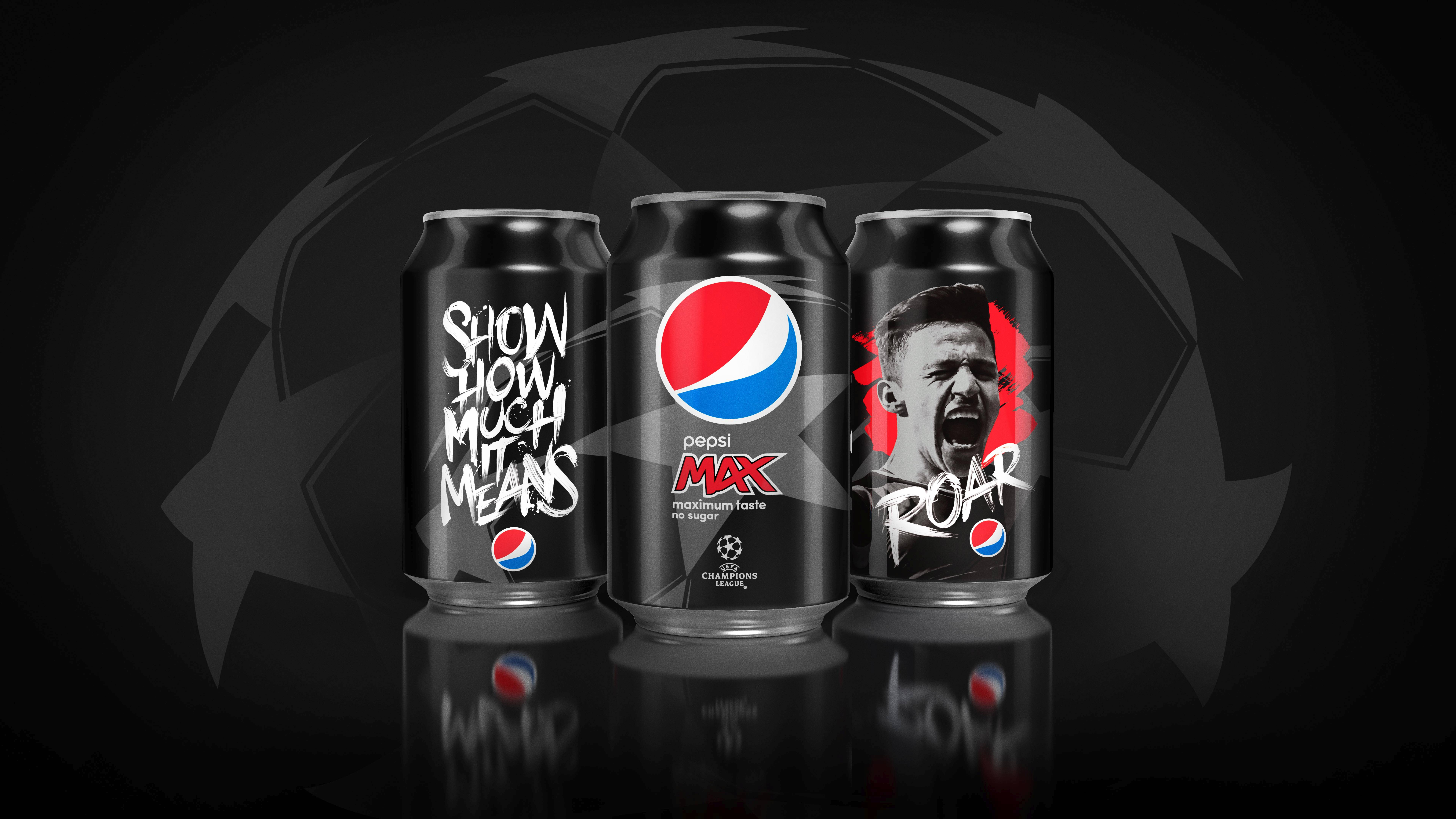 Pepsi Max Launches Uefa Champions League Campaign