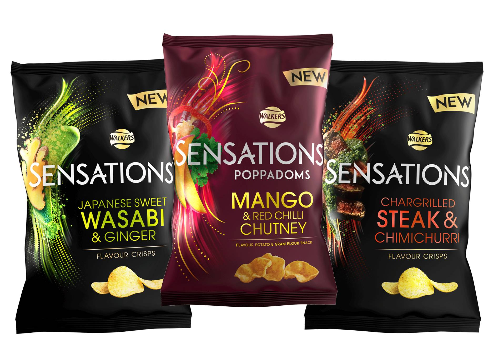 Walkers Revamps Sensations Range And Adds Three New Flavours