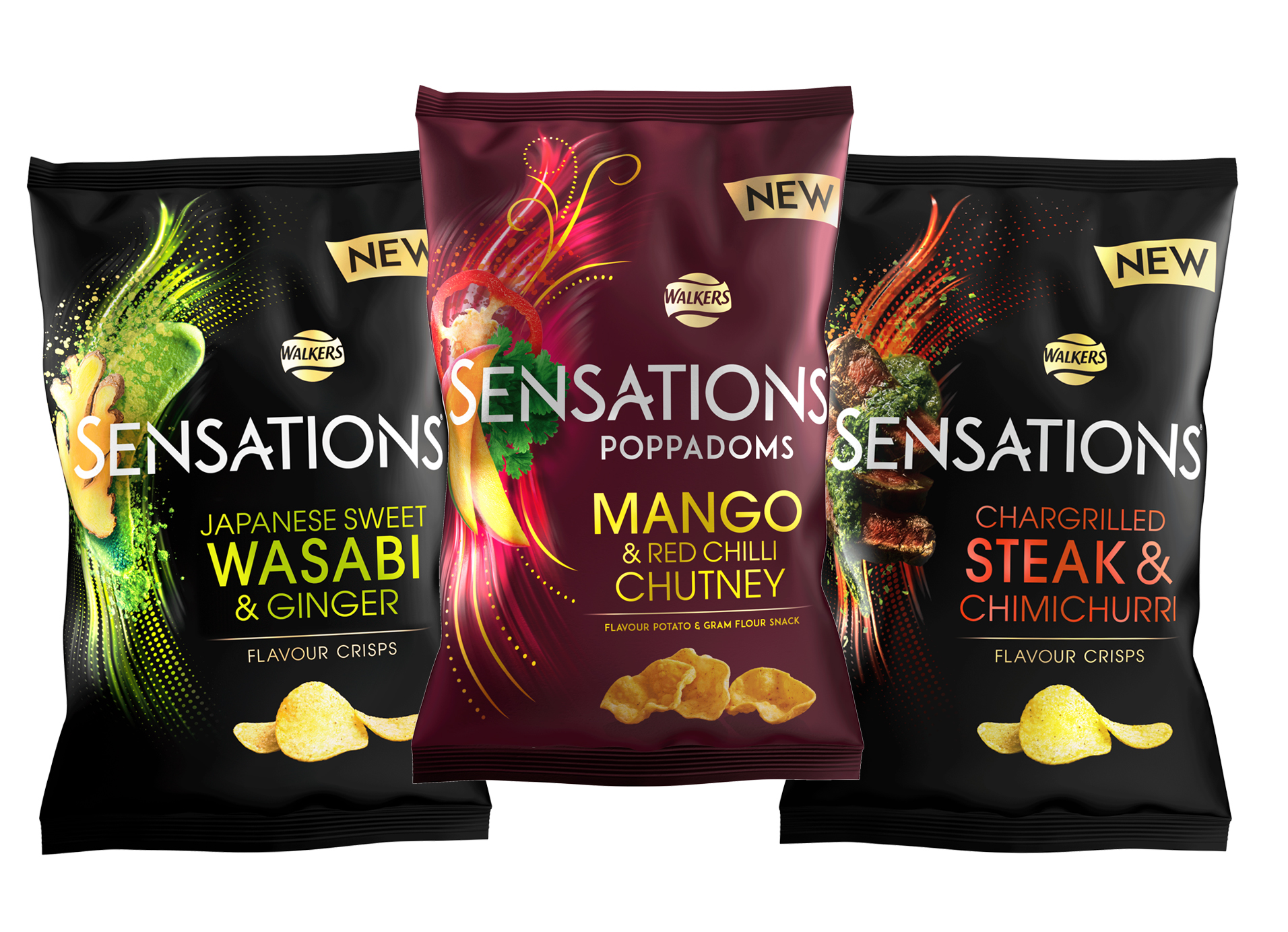 Walkers Unveils New Design And Flavours For Sensations Range