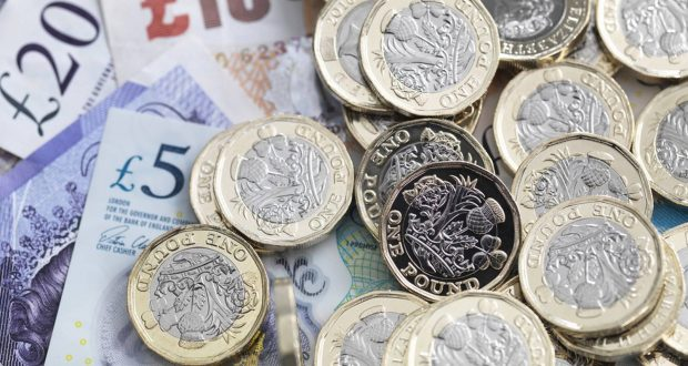 Sterling dips after United Kingdom  inflation slows more than expected