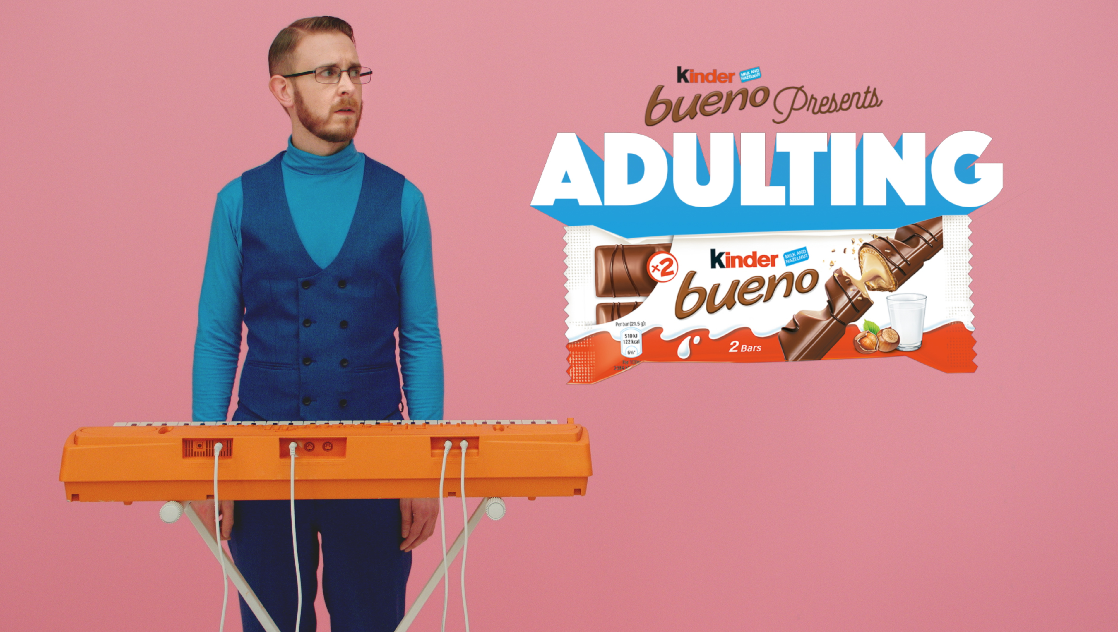 29af7c2ea767c9 Kinder Bueno to launch 'Now That's Adulting' campaign