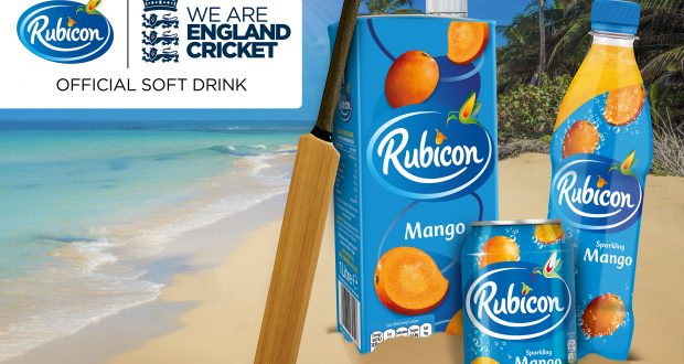 Rubicon Becomes Official Soft Drink Of The England And Wales