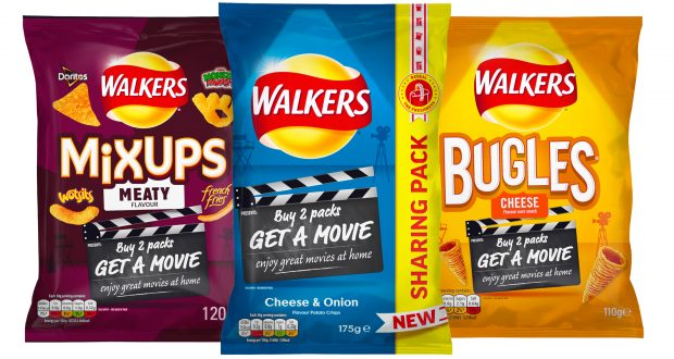 Walkers Reveals Movie Night Promotion On Sharing Packs