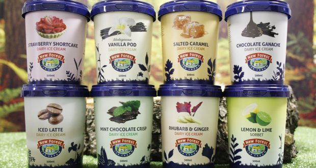 3e88790687ff New Forest Ice Cream launches new 500ml tubs