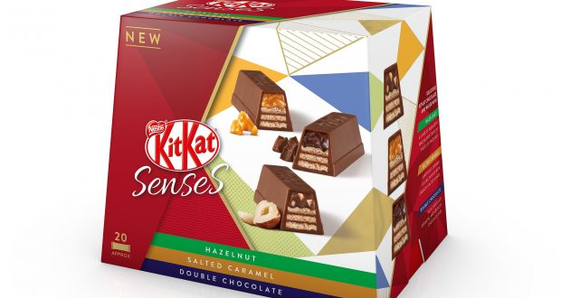 Nestlé releases KitKat boxes featuring three new flavours
