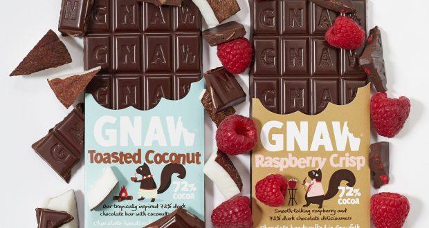 Gnaw Chocolate Launches 72 Cocoa Dark Bars