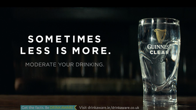 guinness unveils responsible drinking campaign