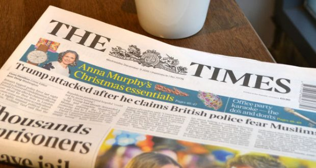 The Times rolls out subscriptions voucher tracking system
