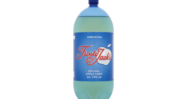Frosty Jack's reduces bottle size to drive sustainability