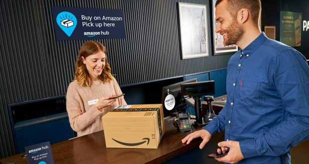 Paypoint Introduces Amazon Hub Counter To Hundreds Of Stores