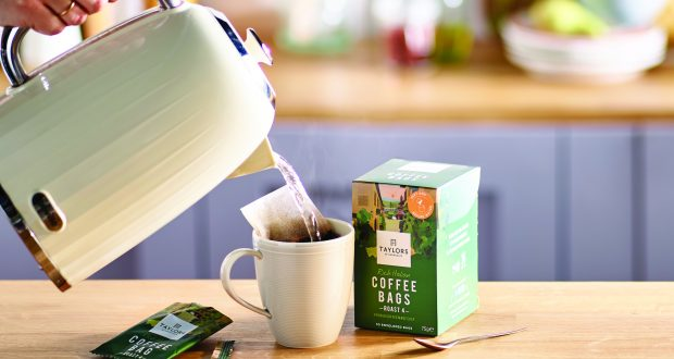 Taylors Of Harrogate Launches Coffee Bags Into Convenience