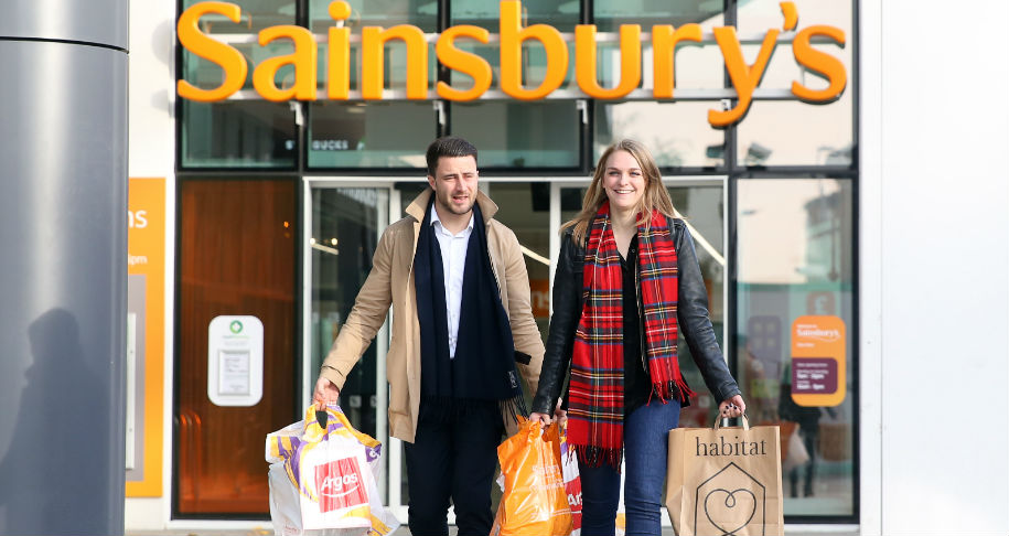 Convenience sales fall at Sainsbury's after city centre slump