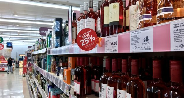 Scottish MP seeks increase in duty on alcohol bought in stores